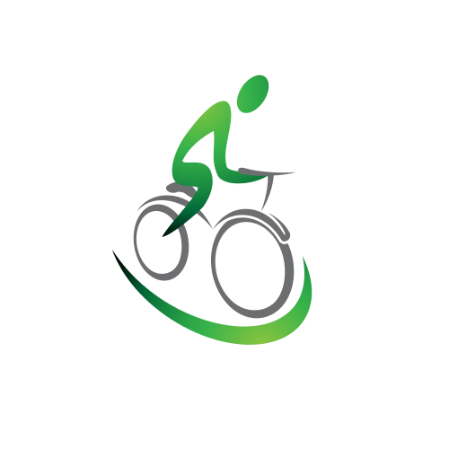 Bicycle Riding Sport Logo