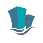 Buildings and Water Logo