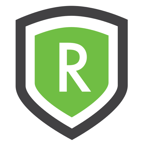 Letter R Shield  Logo