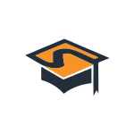 Education Cap Orange