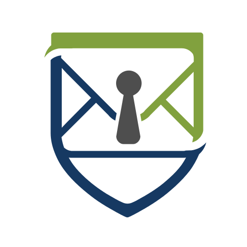 Mail Security Lock Logo