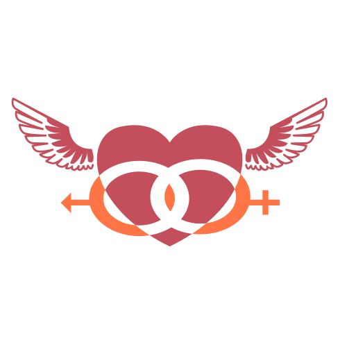 Male Female Heart Logo