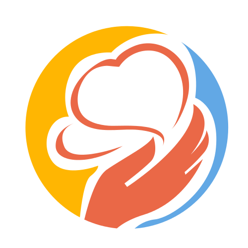 Holding Two Hearts  Logo