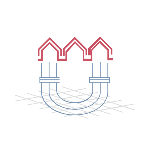 House Construction Plans Logo
