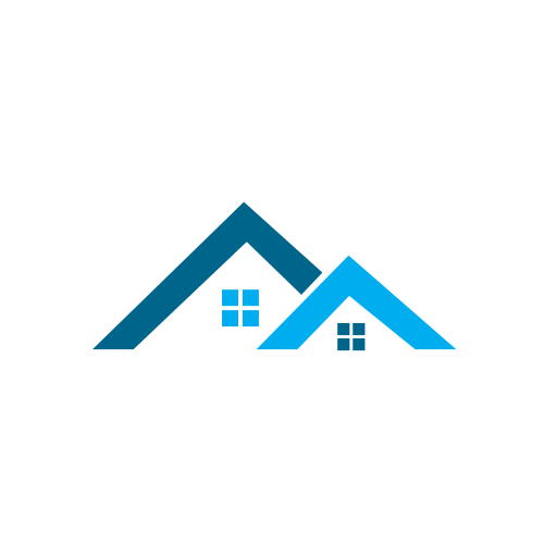 Family Homes Construction Logo