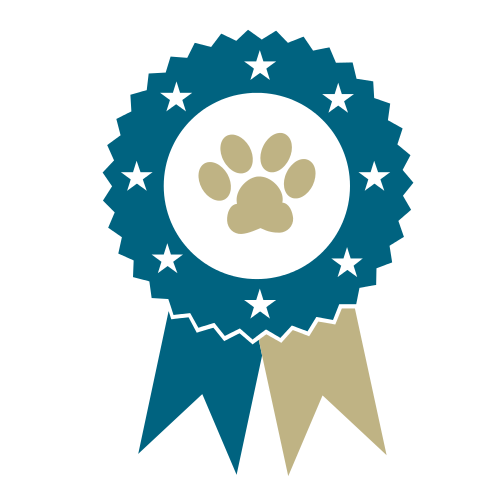 Dog Paw Ribbon