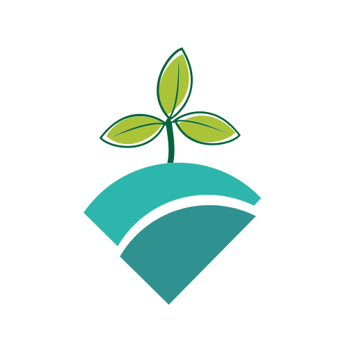 Small Growing Plant  Logo