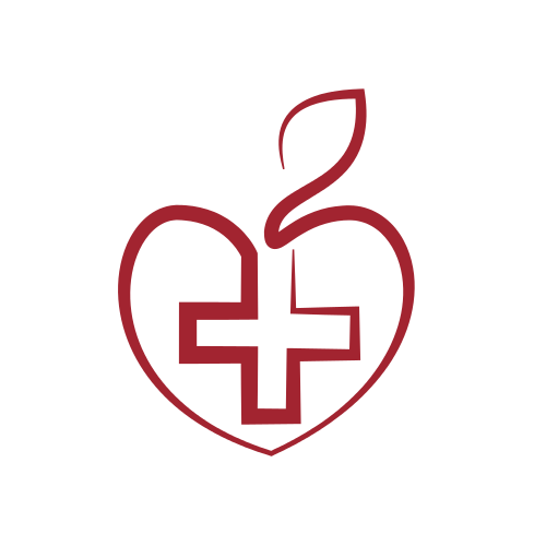 Red Cross Apple Logo