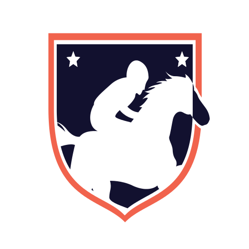 jockey, horse, horse riding, blue, red, star