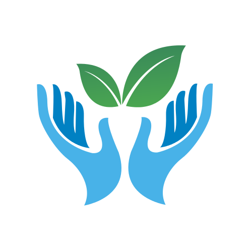 Blue Agriculture Hands