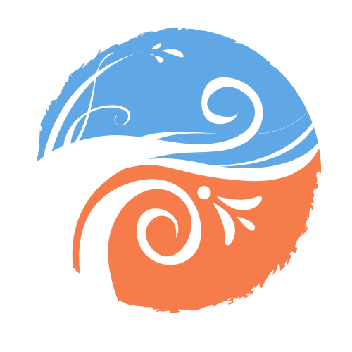 Windy Flower Circle   Logo