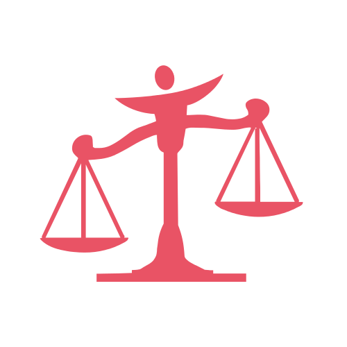 Law Scale Attorney  Logo