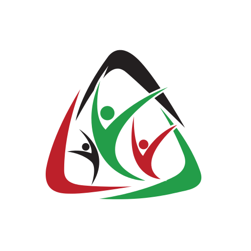 Children Nonprofit Triangle  Logo