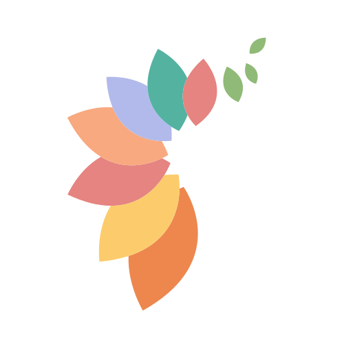 Floral Leaves Trail Logo