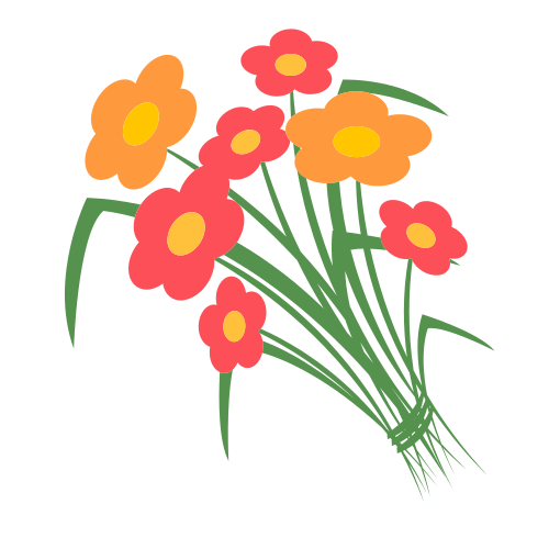 Wild Flower Bouquet  Logo