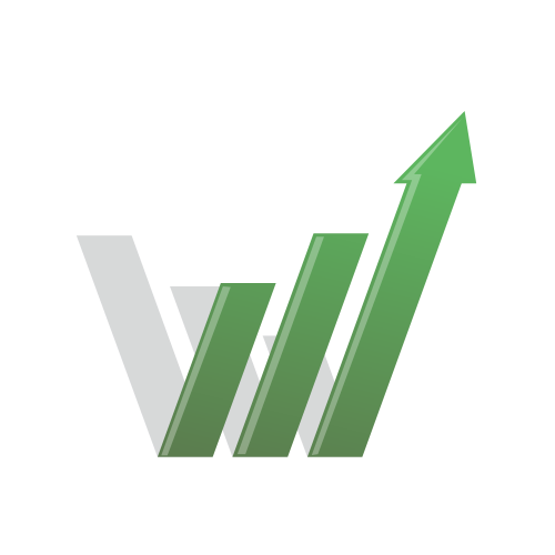 Accounting Chart Growth Logo