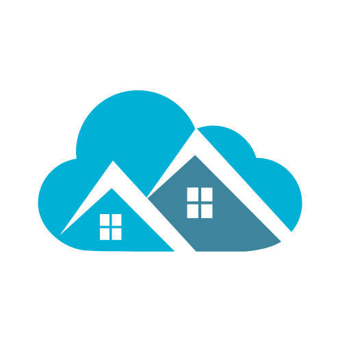 Cloud Real Estate Roofs Logo