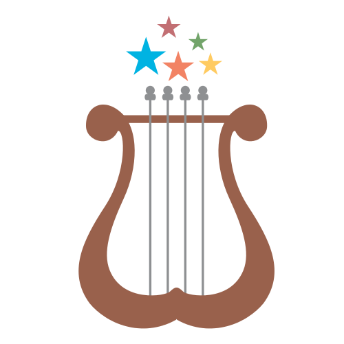 Angel Harp Art Logo