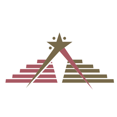 Political Star Pyramid  Logo