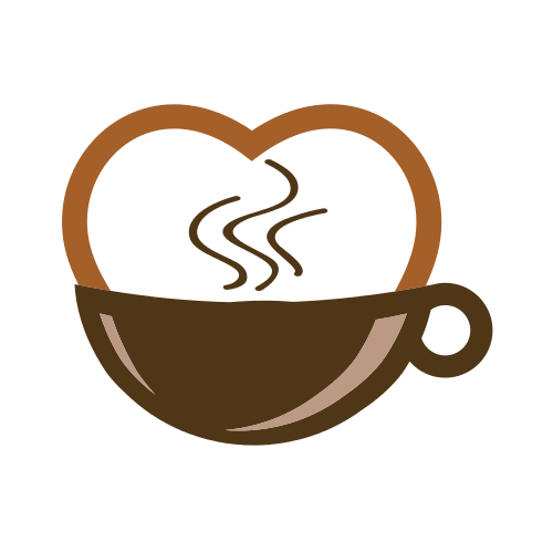 Heart Coffee Mug Logo