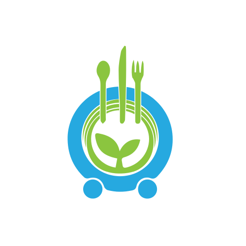 Food Plating Organic  Logo