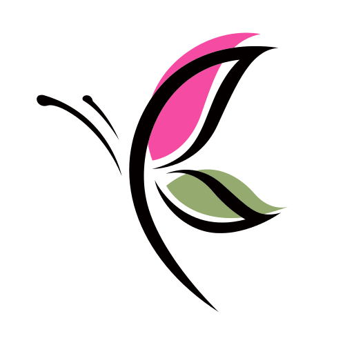 Fashion Butterfly Wings  Logo