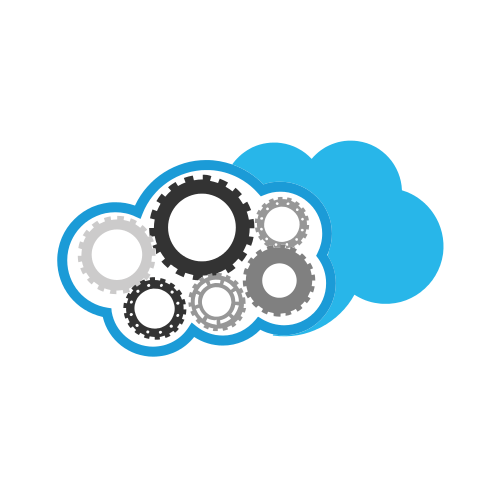 Cloud Cogwheels Industrial