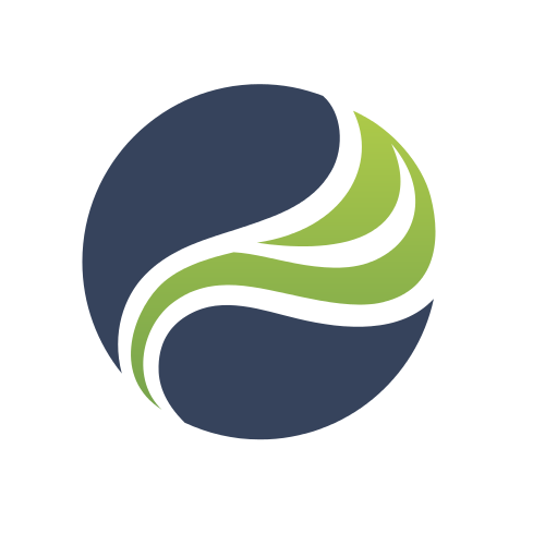 Abstract Plant World  Logo