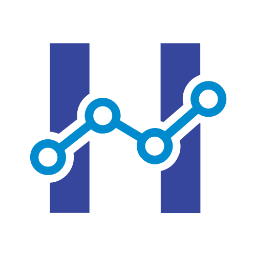 Letter H Science  Logo
