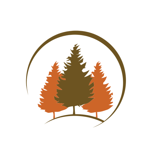 Trees Landscape Arch Logo
