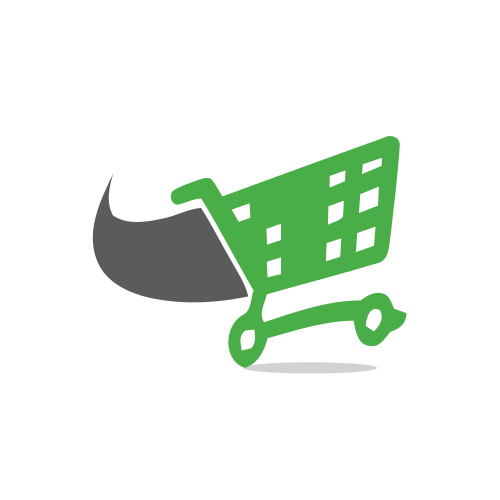 Green Web Cart Logo