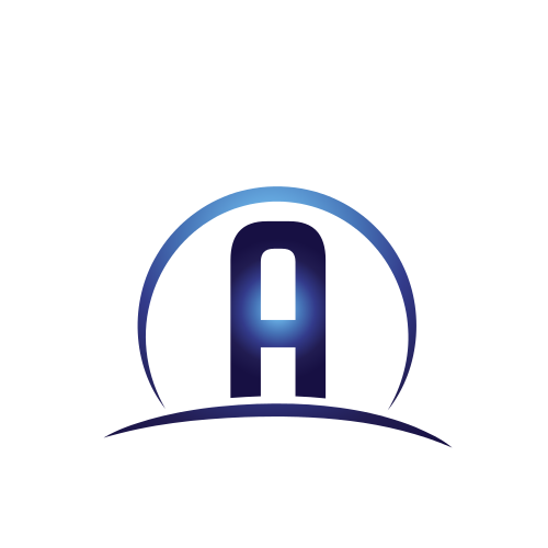 Letter A Hill Logo