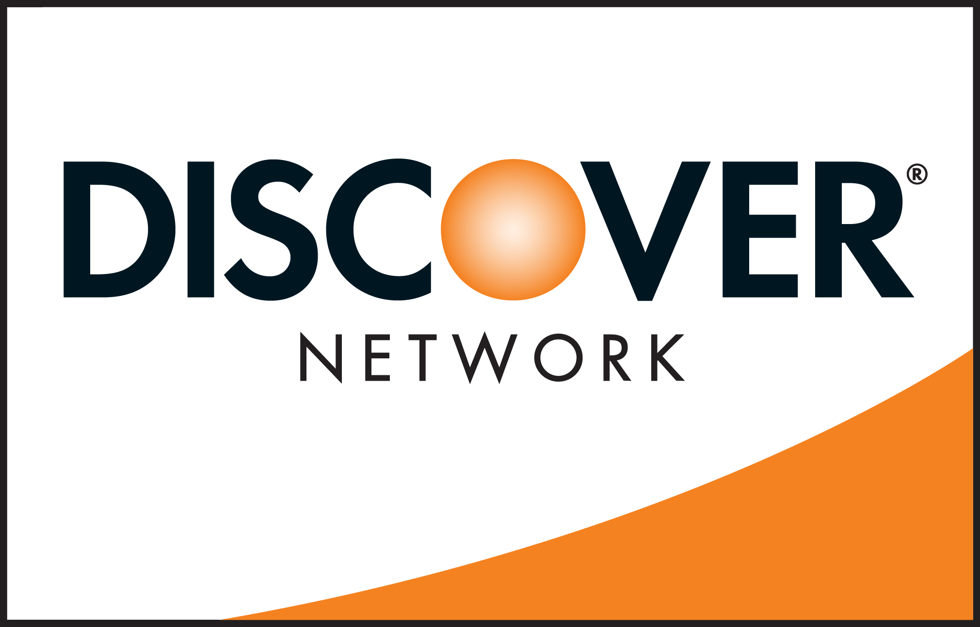 Discover network card logo